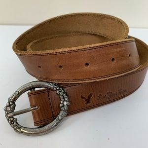 American Eagle Outfitters leather belt with buckle